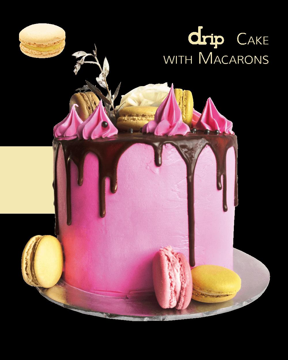 CAKE-DESIGN-DRIP-CAKE-WITH-MACARONS-responsive